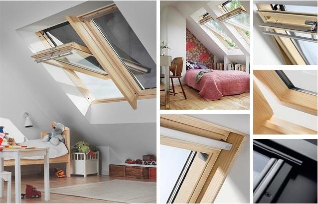 okna dachowe velux ggl 3073 szyba bezpieczna atwozmywalna roz wietlamy poddasza. Black Bedroom Furniture Sets. Home Design Ideas