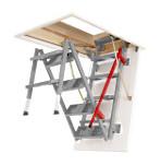 schody metalowe schody strychowe fakro lml lux roz wietlamy poddasza. Black Bedroom Furniture Sets. Home Design Ideas