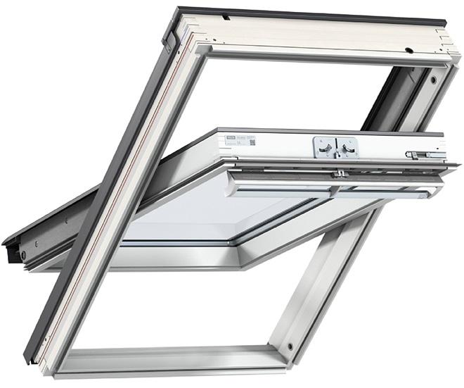 velux ggu drewniano poliuretanowe okna dachowe velux ggu 0050 szyba hartowana roz wietlamy. Black Bedroom Furniture Sets. Home Design Ideas