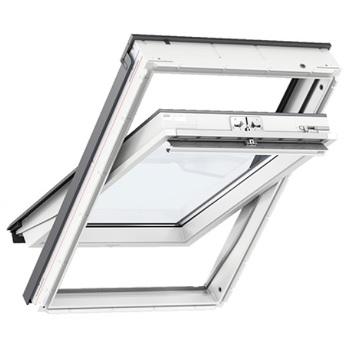 velux glu drewniano poliuretanowe okna dachowe velux glu 0061 g rne otwieranie pakiet 3 szybowy. Black Bedroom Furniture Sets. Home Design Ideas